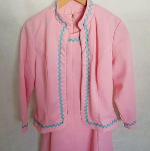 Women's 1950s Junior Sixes Inc Dress & Jacket